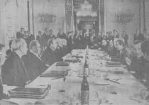 МОСКВА. 23 мая. Советско-американские переговоры в Кремле. (ТАСС)