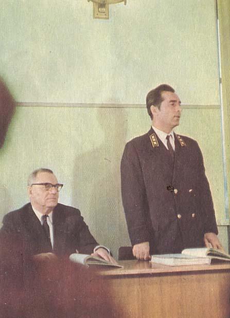 После выступления общественного обвинителя П.Т. Козлова, слово предоставляется П.Д. Ящуку, советнику юстиции, поддерживающему обвинения.