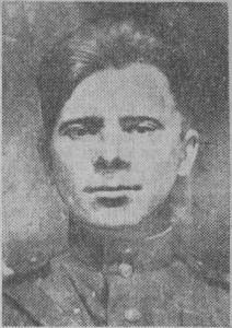 НА СНИМКЕ: В. Ефремов (снимок военных лет).